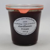 Aardbeien+jam